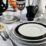 Colbert White Platinum Filet Five Piece Place Setting