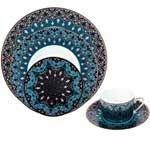 Dhara Peacock Five Piece Place Setting