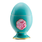 Cartiglio Turchese Egg Small