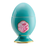 Cartiglio Turchese Egg Large