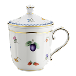 Italian Fruit Mug with Cover
