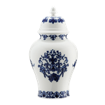 Babele Covered Vase