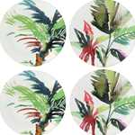 Jardins Extraordinaires Canape Plate Green