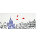 Ca C'est Paris! Oblong Serving Tray
