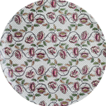 Dominote Large Wall Platter Roses