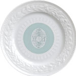 Louvre Easter Salad Plate Green