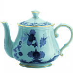 Oriente Italiano Gold Trim Teapot