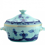 Oriente Italiano Gold Trim Tureen with Cover