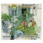 Paris A Giverny Square Plate
