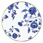 Prince Blue Coupe Dinner Plate