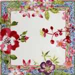 Millefleurs Square Plate Small