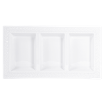Louvre Three Compartment Tray