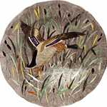 Ramboillet Dinner Plate Duck