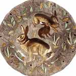 Ramboillet Dinner Plate Rabbit
