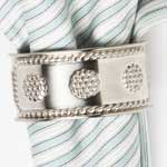 Berry & Thread Metal Napkin Ring, Set of 4