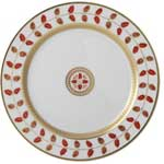 Constance Red Salad Plate