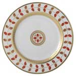 Constance Red Bread & Butter Plate
