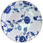 Prince Blue Open Vegetable Bowl