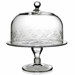 Garland Cake Stand & Dome