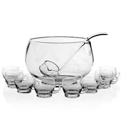 Wisteria Punch Bowl Set