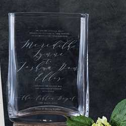 Wedding Invitation Vase