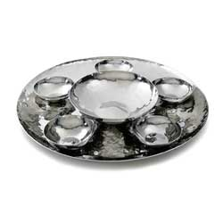Savanna Round Serving Tray